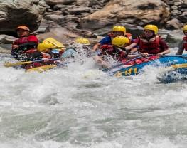 Sunkoshi River Rafting.